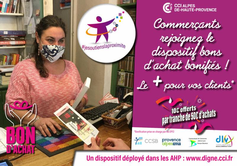 Bons Achats Commerce Digne Provence Alpes Agglomération